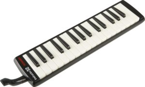 Hohner 32B Piano Style Melodica,  Black