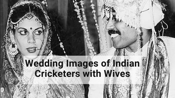 Wedding of Indian Cricketers with Wives