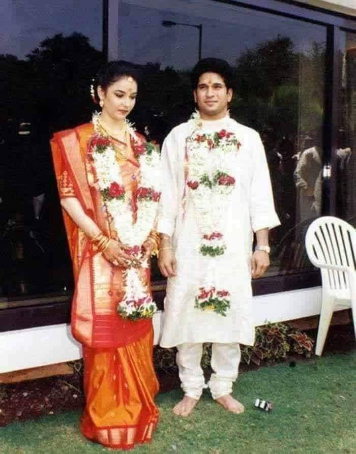 images of cricketers wife