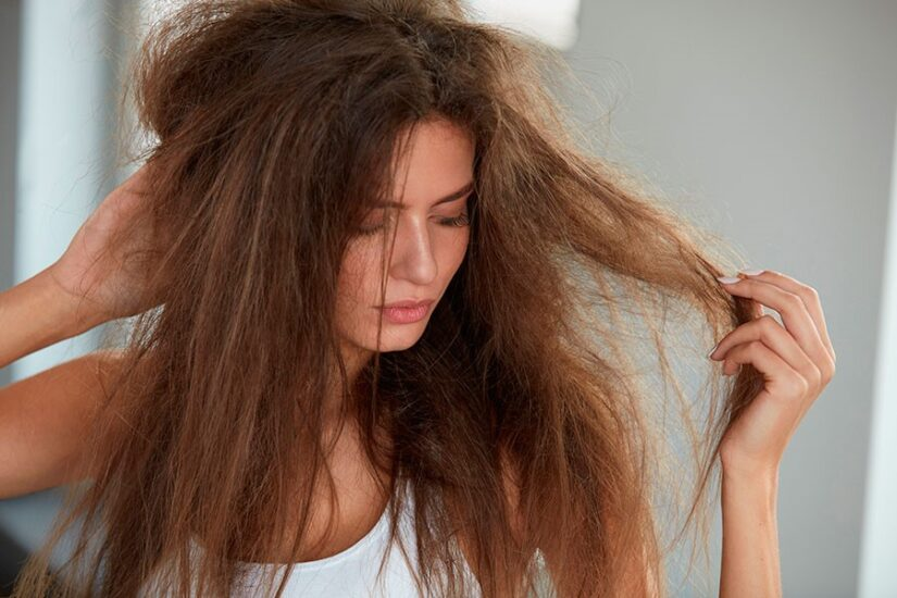 Static hair: causes and home remedies