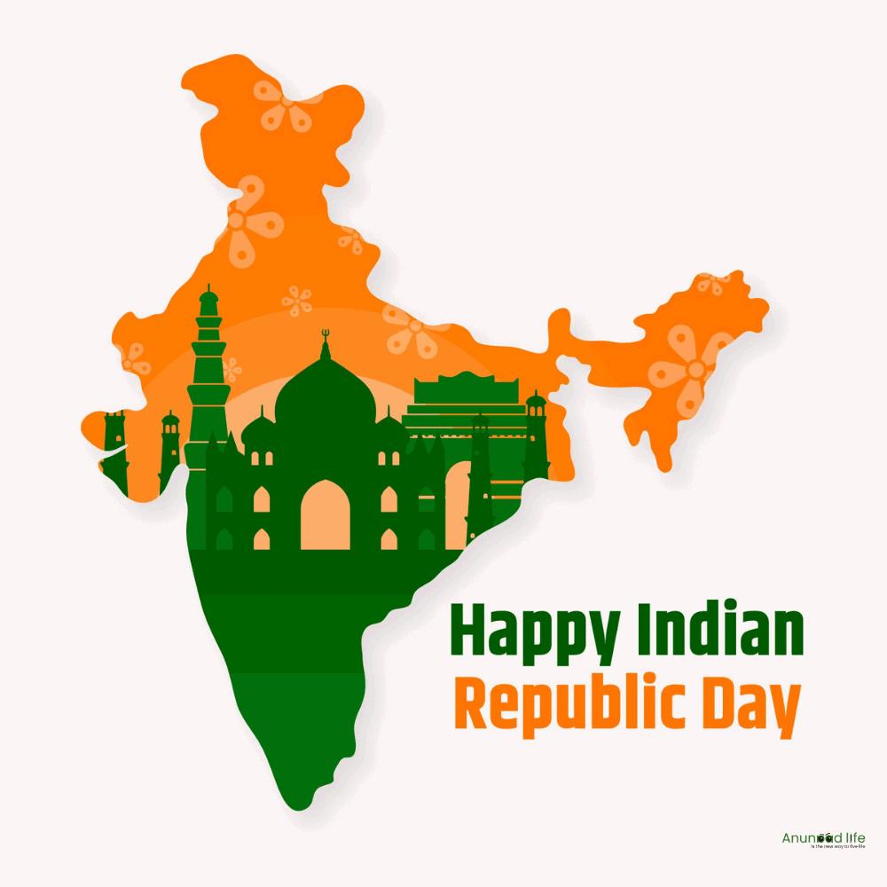 republic day india map