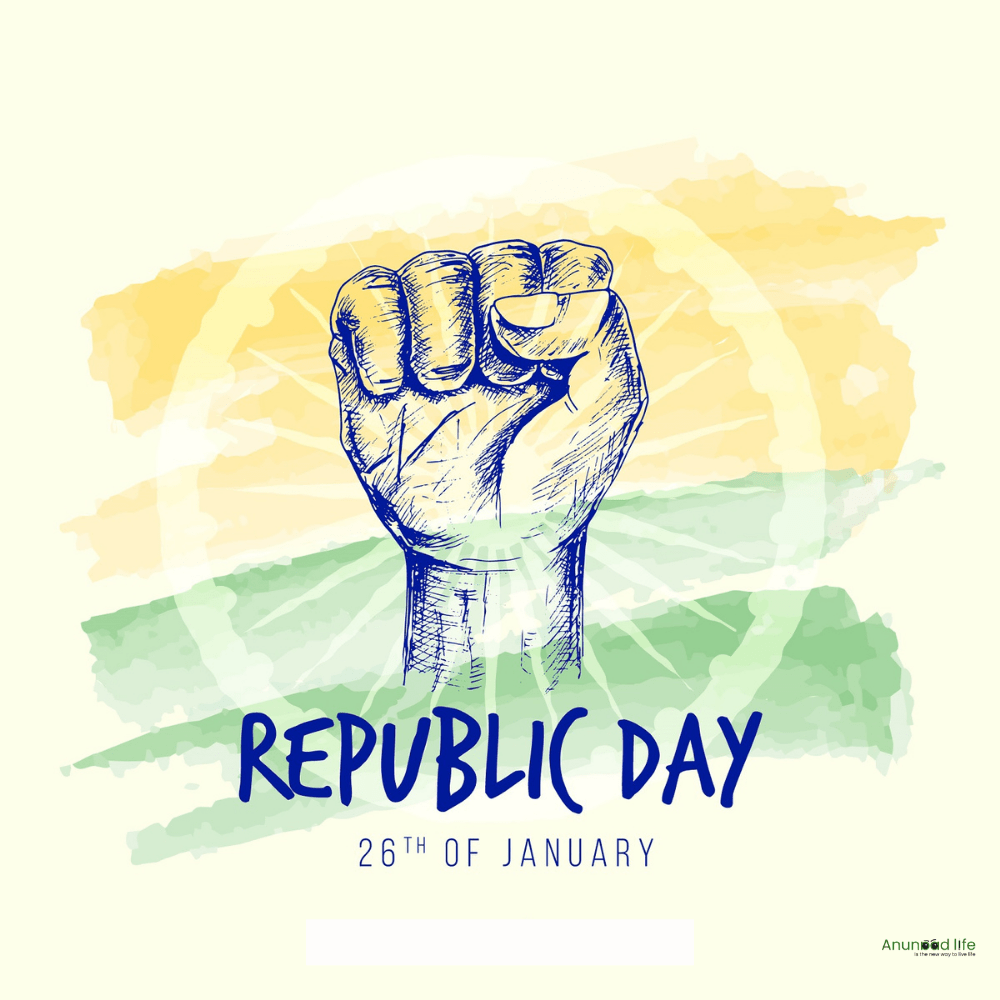republic day hand