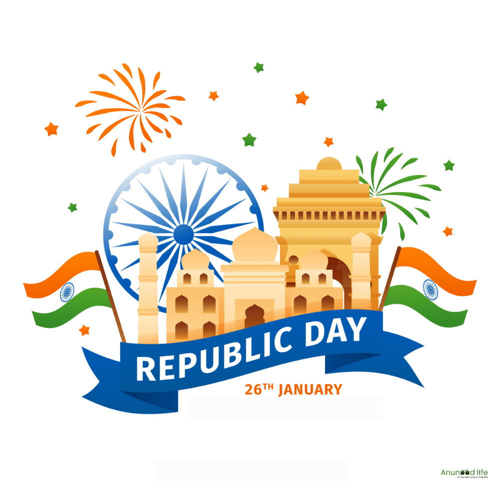 republic day with history images