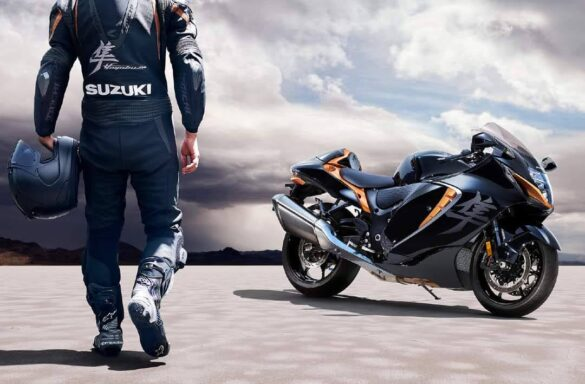 The Busa is return – New 2021-22 Suzuki Hayabusa