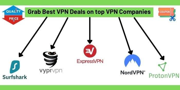 Grab Best VPN Deals on top VPN Companies